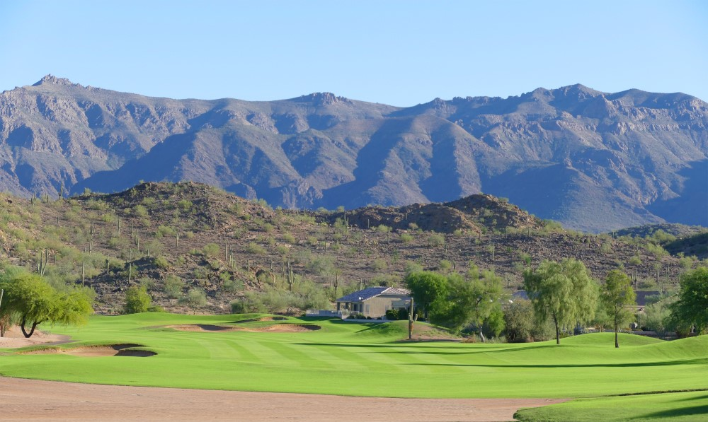A Public Golf Course in Gold Canyon with Amazing Views